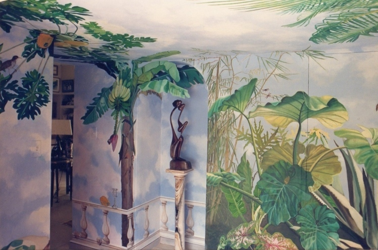 Mariann loveland american photorealist painter based in for American tropical mural